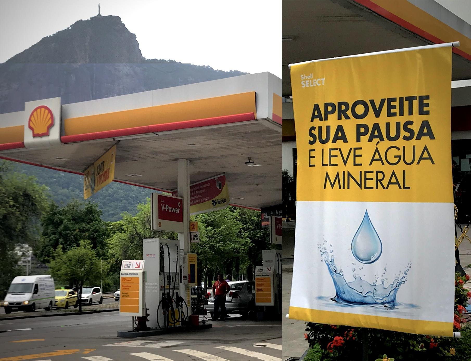 Escassez e disparada de preços: água tem mais destaque em posto do que os próprios combustíveis